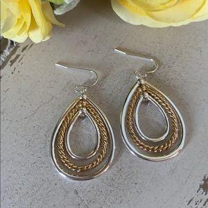 Hypoallergenic Graduated Hoop Earrings